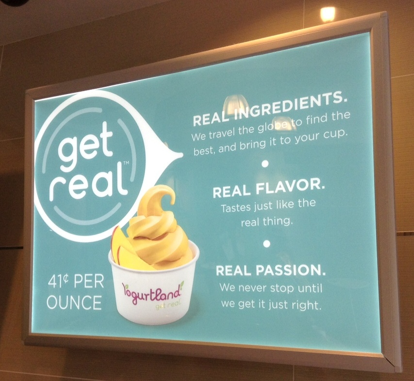 f3f717ac7fa5e Yogurtland has once again raised their per ounce prices in metro Atlanta