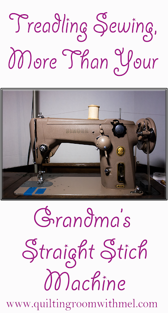 not your grandmas treadle sewing machine
