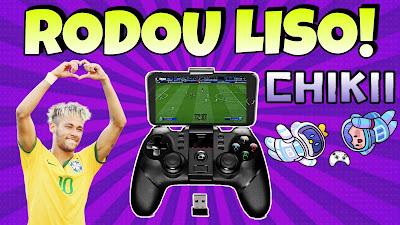 Gamepad ipega 9076 Gameplay chikii cloud game