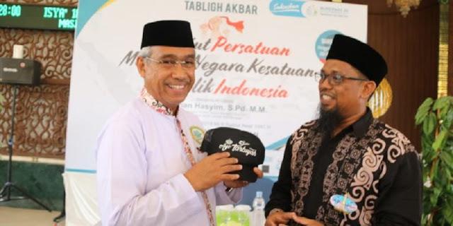 Tebarkan Persatuan, Bupati Lutim Sampaikan Terima Kasih Ke Wahdah Islamiyah