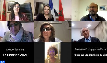 استعراض التجربة المغربية في مجال الانتقال الإيكولوجي بإيل دو فرانس مع تسليط الضوء على الأقاليم الجنوبية