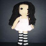 patron gratis muñeca gorjuss amigurumi | free pattern amigurumi gorjuss doll
