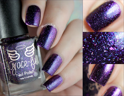 Grace-Full Nail Polish Evening Dreams | Rainbow Sparklers Collection