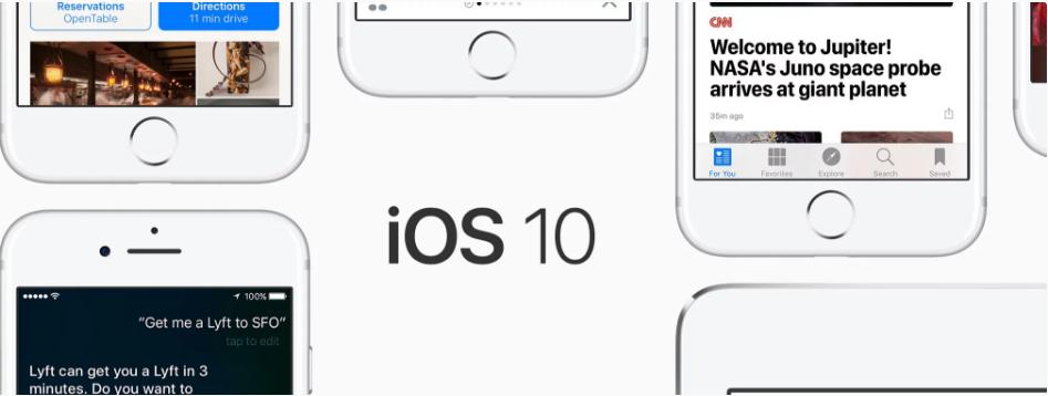 iOS 10 đã có mặt trên 87% thiết bị chạy iOS của Apple