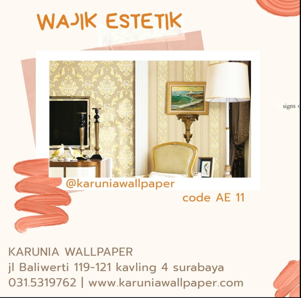 jual hiasan wallpaper dinding estetik