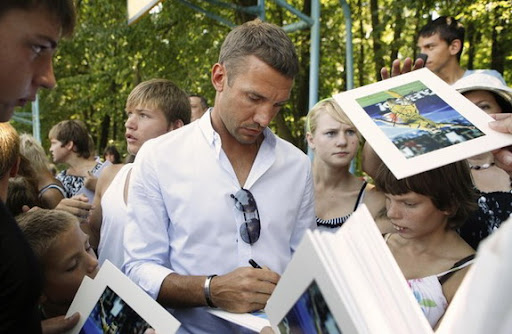 Ukraine star Andriy Shevchenko has quit football for a future in the political realm