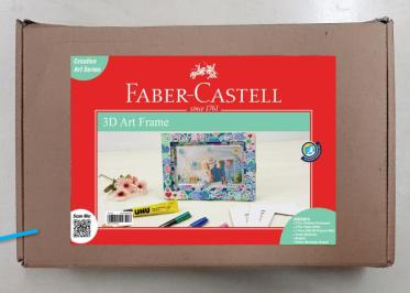 3D Art Frame, Faber Castell