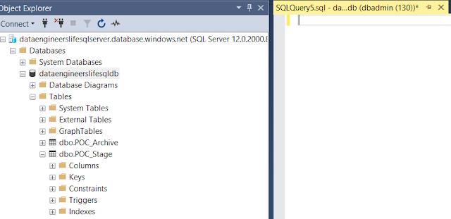 SQL Server Query screen