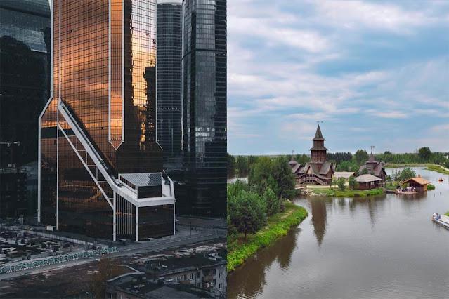 Cidades grandes vs pequenas