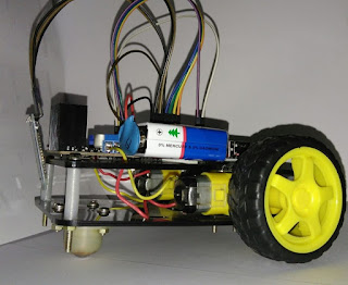 Bluetooth Controlled Robot Car using Arduino
