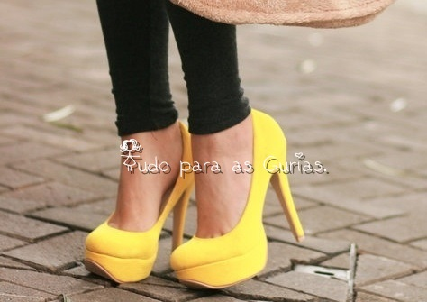 Amarelo ;a cor do Verão 2014