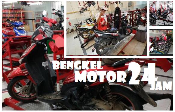 Bengkel Service Motor Buka 24 Jam Di Surabaya