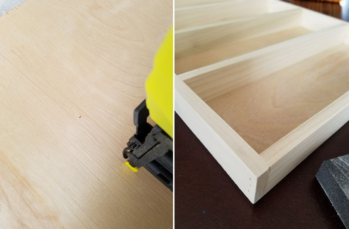 Build it! create your own wooden dividers in your kitchen