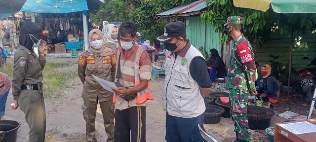 Sebanyak 21 Orang Terjaring Operasi Yustisi di Pasar Hanjak Maju