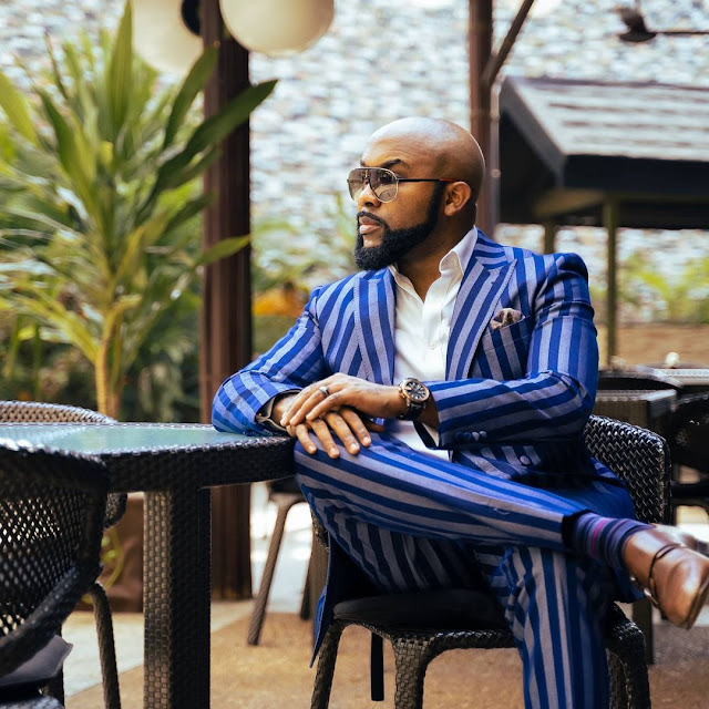 Read the sweet word Adesua Etomi showered on her Husband Banky W as he clocks 40 years old today (Pictures)
