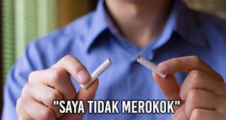 """Saat berkata """"Saya tidak merokok"""" adalah Kebohongan yang Sering Diucapkan pria kepada wanita"""