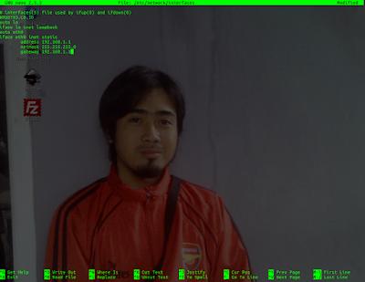 mode konfigurasi ip cli di ubuntu