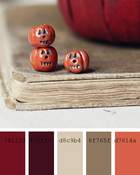 halloween color palettes to inspire you