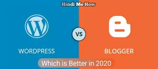 WordPress vs Blogging