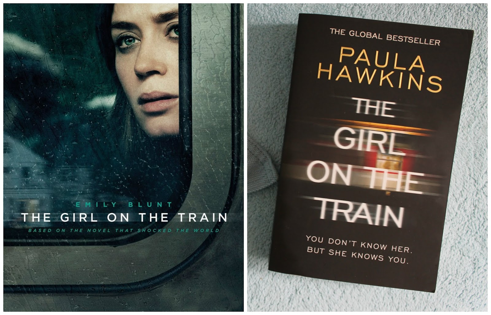 Film vs book the girl on the train
