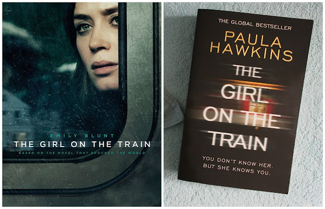 Film vs Book: The Girl On The Train, The Girl On The Train, Film Review, Book Review, Paula Hawkins, Emily Blunt, Review