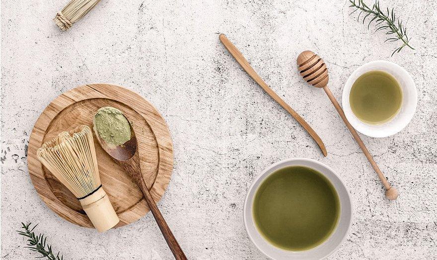 Mascarilla Exfoliante Té verde receta