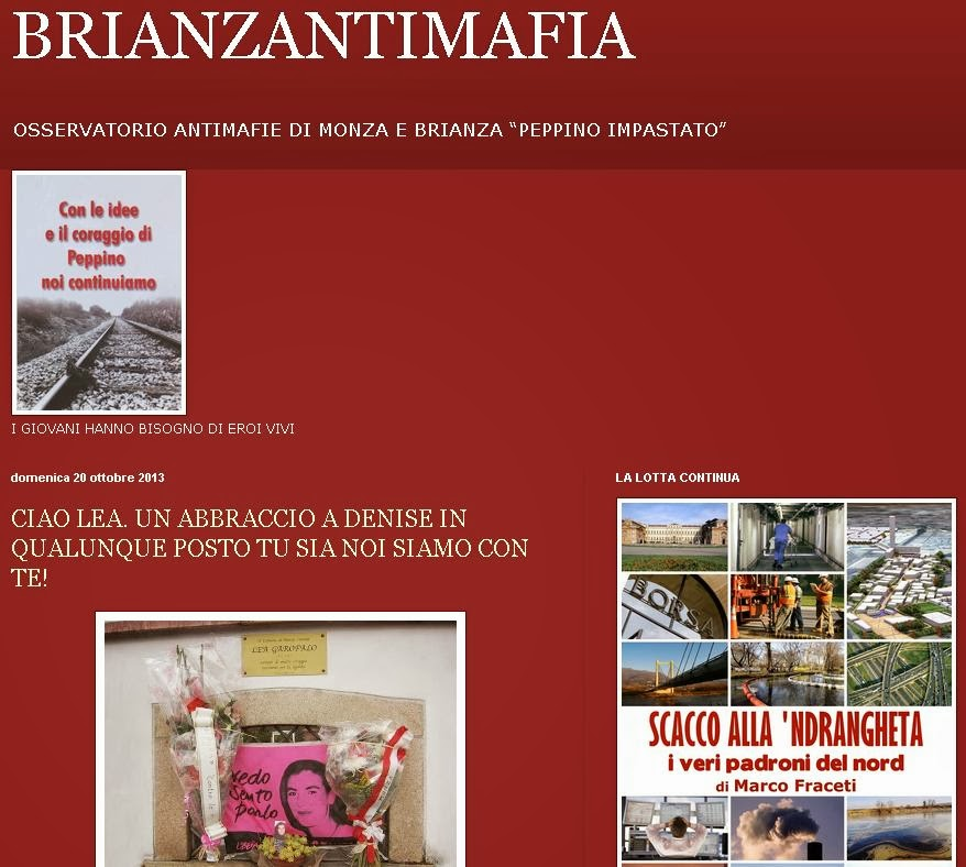 Blog Antimafia