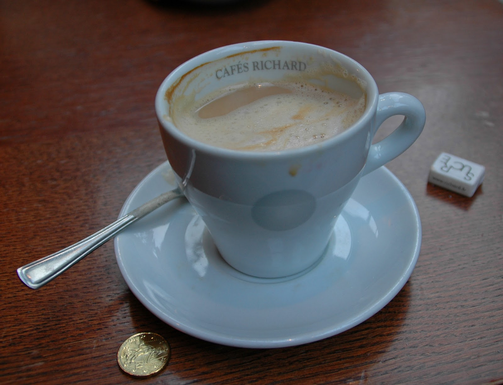 At Any Café In Paris Your Coffee Will Likely Be Served A Cafés Richard Cup