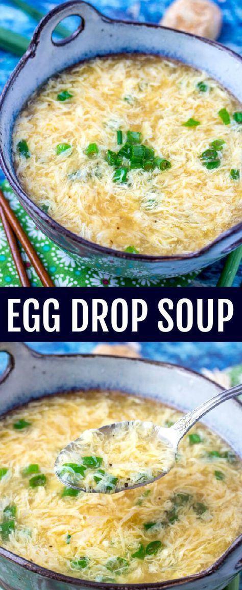 EGG DROP SOUP RECIPES