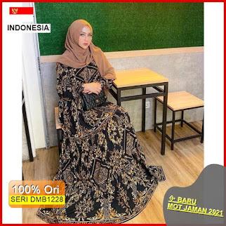 DMB1228 DRESS WANITA 1KG MUAT 4PCS SULTAN MAXY DRESS RAYON PREMIUM HITS SELEBGRAM KEKINIAN FASHION WANITA MUSLIMAH BARU 2021