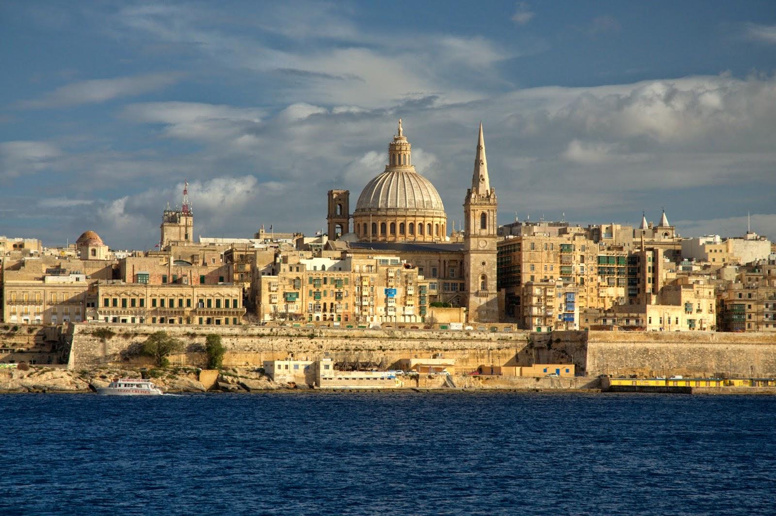 Valletta stolica Malty