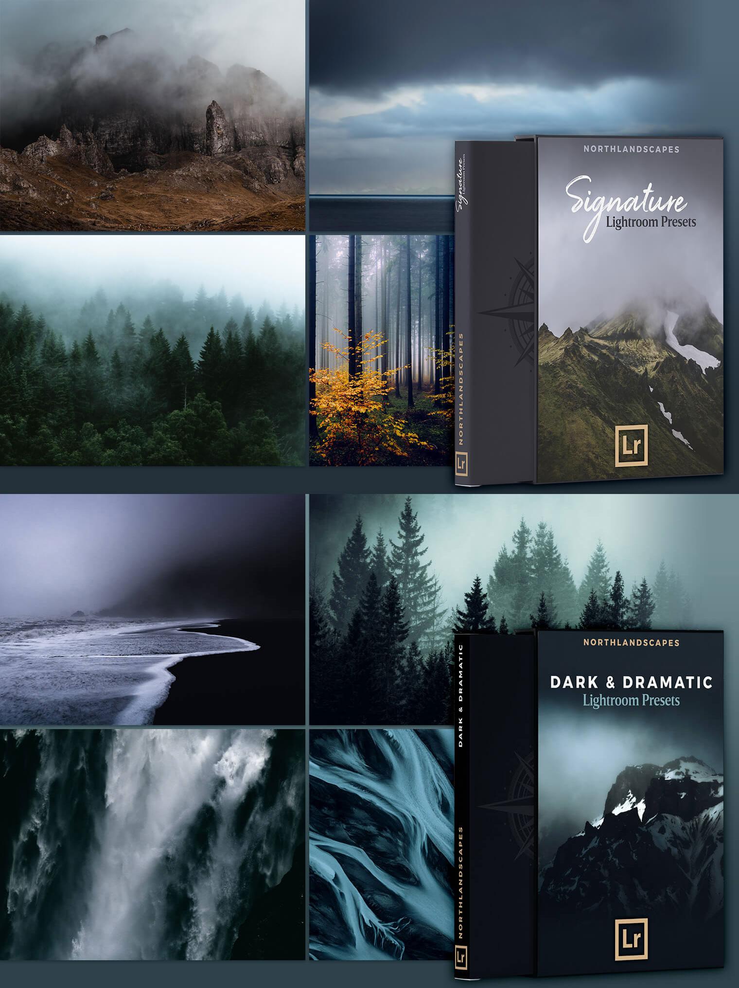 NorthLandscapes   6 Professional Lightroom Preset Packs for Landscape %2526 Travel Photography