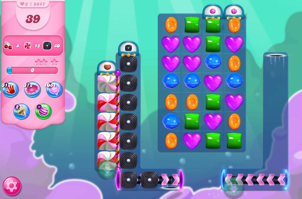 Candy Crush Saga level 8847
