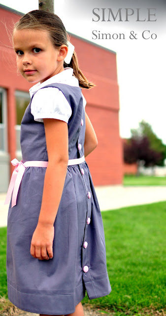 A Sew Along The Vintage School Girl Jumper Simple Simon