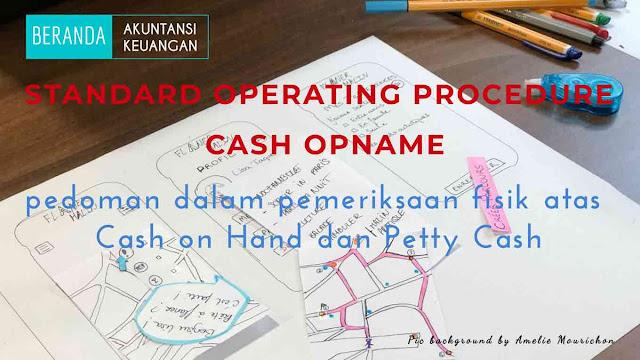 sop cash opname