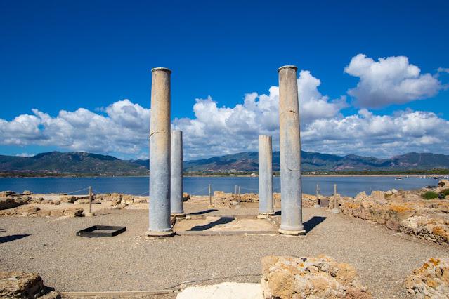 Area archeologica di Nora-Domus patrizia