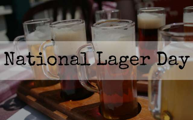 National Lager Day Wishes Pics