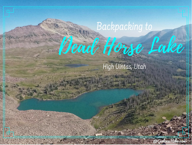 The Best Backpacking Trips in the Uintas, dead horse lake uintas