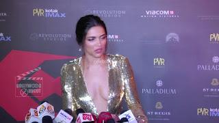 Deepika Padukone Promoting   Return of Xander Cage in India in Golde Gown 17 .xyz.jpg