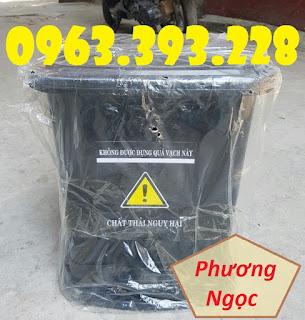 Thùng đựng rác thải y tế 25L, thùng rác y tế đạp chân 25L, thùng rác nhựa Da716b9d66f380add9e2