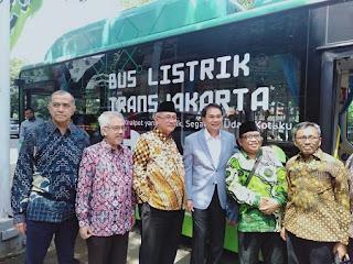 5 Hal Disampaikan Wakil Ketua DPR Azis Syamsudddin Terkait Mobil Listrik di Kantor Pusat LDII Jakarta