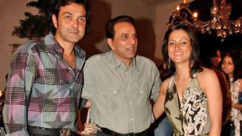 bobby deol wife tanya and his family