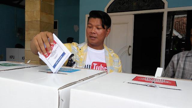 Andika Kangen Band Pulang Kampung Khusus Buat Nyoblos