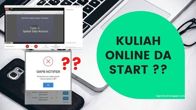 Kuliah Online Bermula