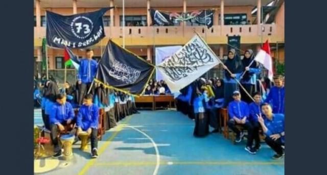 MAN 1 Sukabumi Buka Suara Soal Suka Bendera Tauhid