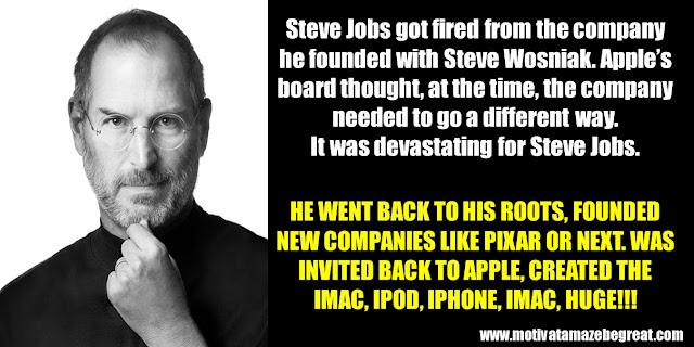 Successful People Who Failed: Steve Jobs, Apple, Fired, Return, Ipad, Ipod, Imac, Iphone