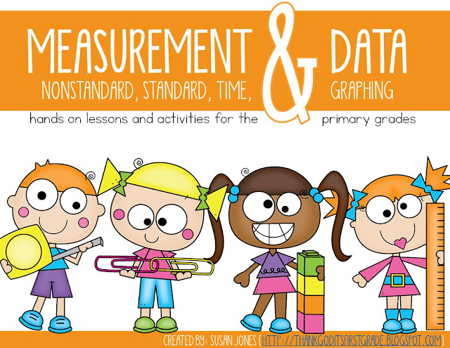 Measurement, Time, Graphing, and Data - Susan Jones Teaching