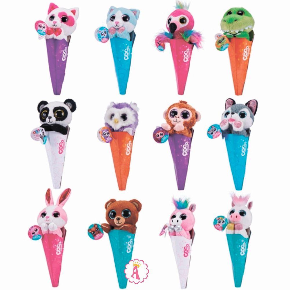 Вся коллекция мягких игрушек Zuru Coco Cones Series 1 Collection