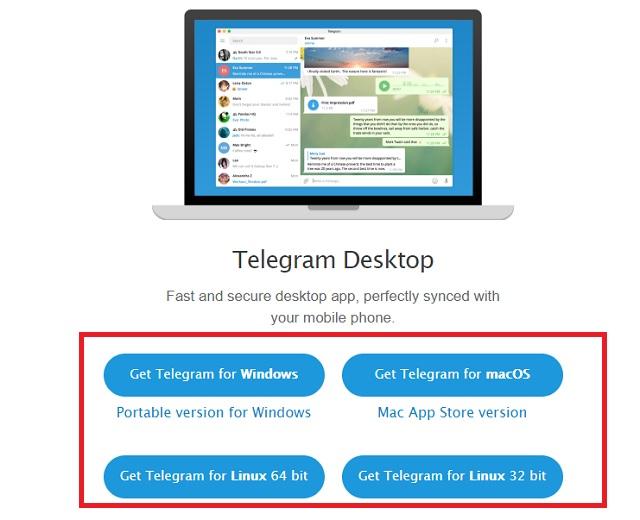 كيفية استخدام تليجرام علي جهاز الكمبيوتر بطريقتين