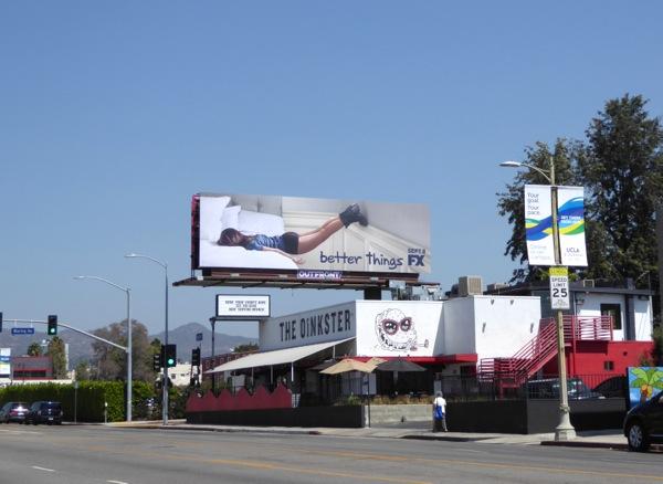 Better Things FX billboard